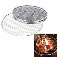 tanie Naczynia do gotowania-Plastik Plastik Zaokrąglanie Patelnia Grille, 24.0*24.0*0.2