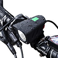 Becuri LED Iluminat Bicicletă Față LED XM-L2 T6 Ciclism Profesional Rezistent la apă Baterie Litiu 1000 Lumeni Baterie reîncărcabilă Alb