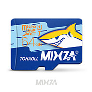 mixzaメモリカードmicro sdカード64GBのclass 10フラッシュカードメモリスマートフォン/タブレット用micro sd