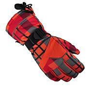 Luvas de Esqui Homens Mulheres Dedo Total Manter Quente Protecção Esportes de Neve Inverno