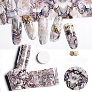 1 pcs Adesivo per unghie Geometrica Nail Art Design
