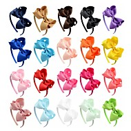 Children Hair Bands Hair Ornaments Alice Flowers Bow Tie Handmade Wholesale To Map As The Standard 4pcs
