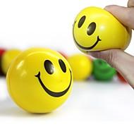 halpa -12kpl / set hauska emoji kasvot purista pallo anti stressi käsi ranne sormi käyttää