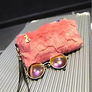 Χαμηλού Κόστους Fur Bags-Γυναικεία Τσάντες Γούνα Τσαντάκι Φερμουάρ για Causal Όλες οι εποχές Λευκό Μαύρο Ανθισμένο Ροζ Σκούρο μπλε
