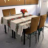 Table Cloths , 100% polyesteri materiaali חג המולד