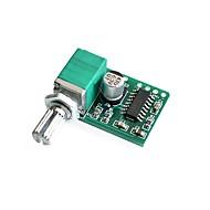 pam8403 mini 5v amplificador digital pequeno