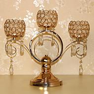 în stil european cristal lumanari titularul nunta props tacâmuri