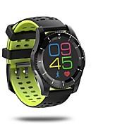 Pánské Módní hodinky Křemenný Monitor pulsu GPS hodinky Krokoměr Měřidla pro fitness Stopky Silikon Kapela Bílá Červená Zelená žlutá