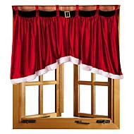 1 stuks 92 * 160 * 77cm mooi deurgordijn paneel kerstgordijn