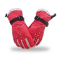Damen Winterhandschuhe Vollfinger warm halten Sporthandschuhe Stoff Ski-Handschuhe Bergradfahren Motorrad fahren Winter
