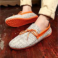 Herren Schuhe Stoff Sommer Mokassin Loafers & Slip-Ons Für Normal Orange Grün Blau