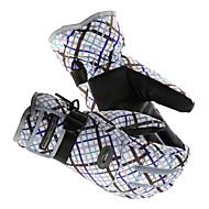 Luvas de Esqui Mulheres Manter Quente Protecção Tecido Algodão Esportes de Neve Inverno