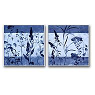 Botanisk Tegneserie Innrammet Oljemaleri Veggkunst,Stål Materiale med ramme For Hjem Dekor Rammekunst Stue