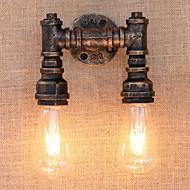 billige Vegglamper-Atmosfærelys AC 220-240 AC 110-120V E26 E27 Tiffany Rustikk/ Hytte Antikk Enkel Free Form LED Retro/vintage Vintage Moderne / Nutidig