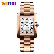 SKMEI Mulheres Relógio Elegante Relógio de Moda Quartzo Impermeável Aço Inoxidável Banda Pendente Legal Casual Luxuoso Prata Ouro Rose
