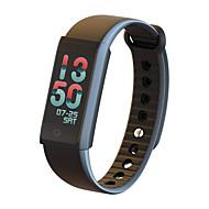 tanie Inteligentne zegarki-Inteligentne Bransoletka Spalone kalorie Krokomierze Obsługa multimediów Śledzenie odległości Informacje Obsługa wiadomości Pomiar
