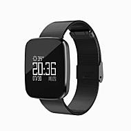 tanie Inteligentne zegarki-Inteligentne Bransoletka Wbudowany Bluetooth Wielofunkcyjny Modny design Water-Repellent zapobiec utracie Współpracuje z iOS i system