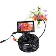billige Overvåkningskameraer-5.5mm linse av endoskop kamera mini kamera 5v ntsc vanntett ip66 15m inspeksjon borescope slange pipe kamera nattesyn
