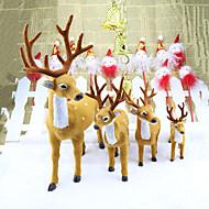 3db Karácsony Karácsonyi díszekForÜnnepi Dekoráció 25*10
