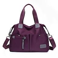 お買い得  ショルダーバッグ-女性用 バッグ オックスフォード ショルダーバッグ ジッパー ルビーレッド / ダークブルー / パープル