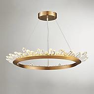 billige Takbelysning og vifter-QIHengZhaoMing Sirkelformet Anheng Lys Omgivelseslys galvanisert Metall Krystall, Pære Inkludert, Forlenget 110-120V / 220-240V LED lyskilde inkludert / Integrert LED