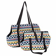 Cat Dog Carrier & Travel Backpack Pet Carrier Breathable Foldable Soft Fashion Rainbow