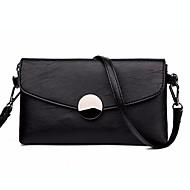 お買い得  クラッチバッグ&イブニングバッグ-女性用 バッグ PU クラッチ ジッパー ブラック / ルビーレッド / グレー