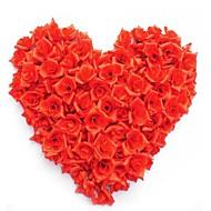 50db / bag ruha rózsa kézzel készített diy esküvői lakberendezés többcélú művirág fej