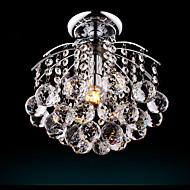 billige Takbelysning og vifter-Takplafond Nedlys Sølv Metall Krystall, Pære Inkludert 110-120V / 220-240V Varm Hvit / Kald Hvit Pære Inkludert / E26 / E27