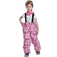 Djevojčice Skijaške hlače Brzo kemijska Ugrijati Vjetronepropusnost Vodootporni patent Podesan za nošenje UV otporna Skijanje