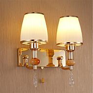 billige Vegglamper-Omgivelseslys AC 220-240 AC 110-120V E26 E27 Tiffany Rustikk/ Hytte Retro/vintage Moderne / Nutidig Traditionel / Klassisk Land Gylden Til