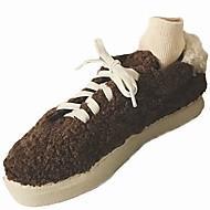 レディース 靴 ファー 冬 コンフォートシューズ ファーライニング スニーカー ラウンドトウ 用途 カジュアル ブラック ベージュ Brown