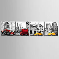 cheap Prints-Prints Poster Car Home Modern Painting Wall Pictures Print On Canvas  4pcs/set (Without Frame)