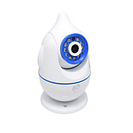 billige Innendørs IP Nettverkskameraer-HQCAM® 1.0 MP Baby Monitor IR kamera 90none ° C Night Vision Range 10m 2.4GHz