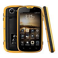 E & l w5 telefone celular impermeável à prova de choque ip68 android 6.0 quad core dual sim