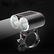 Frontlys til sykkel LED XM-L2 T6 Sykling Vannavvisende 360 ° rotasjon USB 2000 Lumens DC Usb Hvit Camping/Vandring/Grotte Udforskning