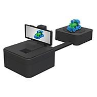 nanjue mobile 3d scanner 0,2 milímetros de alta precisão laser 3d modelagem portátil 3d impressão modelagem varredura