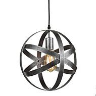 de epocă industriale metalice sferice pandantiv lumini sala de mese bucătărie cafea agățat de iluminat fixare pictat finisaj