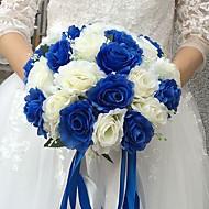 "casamento flores bouquets casamento seda 9.84 ""(aprox. 25cm) acessórios de casamento"