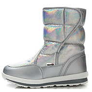 cheap Girls' Shoes-Girls' Shoes Fur Winter Fall Snow Boots Comfort Boots for Casual White Silver Gray