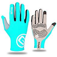 זול כפפות רכיבה על אופניים-WEST BIKING® כפפות ספורט/ פעילות כפפות מגע כפפות רכיבה עמיד נושם קיר כפול על כל האצבע סיבים איכותיים מאוד לייקרה רכיבה בכביש ספורט רב