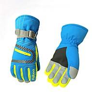Winter Handschoenen Skihandschoenen Heren Dames Lange Vinger Houd Warm waterdicht Wintersporten Nylon Skiën Winter