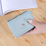 Women Bags PU Wallet 2 Pieces Purse Set Flower(s) for Shopping Casual All Season Blue Black Blushing Pink Purple