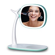 cheap Personal Care Electronics-Led mirror light double mirror magnification 360 degree rotation adjustable light USB charging