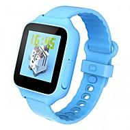 tanie Inteligentne zegarki-Zegarki dziecięce Odporny/a na zadrapania GPS Rejestr ćwiczeń Z Filtrem UV Wykonywanie połączeń Rejestrator aktywności fizycznej Kalendarz