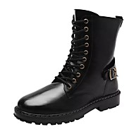 Masculino sapatos Couro Ecológico Inverno Coturnos Botas Botas Cano Médio Para Casual Preto Cinzento Marron