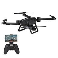 RC Drone JIESTAR X8TW 4 Kanaler 6 Akse 2.4G Med HD-kamera 720P Fjernstyret quadcopter FPV LED Lys En Knap Til Returflyvning Auto-Takeoff
