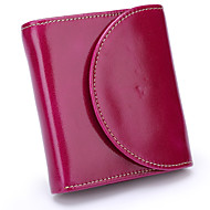 Women Bags Cowhide Coin Purse Buttons for Event/Party Office & Career All Season Black Purple