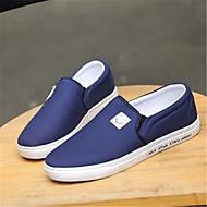 Homme Chaussures Polyuréthane Printemps Automne Confort Mocassins et Chaussons+D6148 Pour Décontracté Noir Gris Bleu