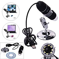 Digital Electronic Microscope 25X-200X Microscope Portable Industrial Textiles Testing